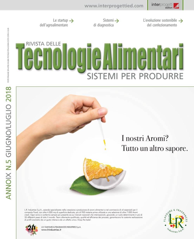 tecnologie alimentari n5 2018