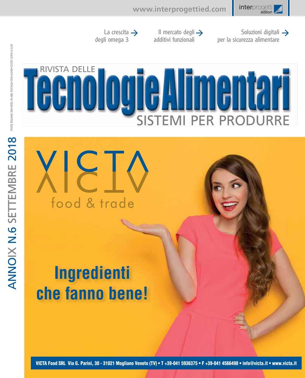 tecnologie alimentari settembre 6 2018